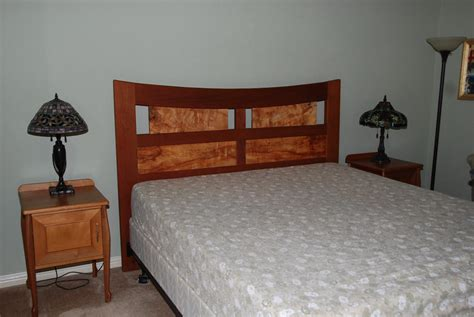 bed headboard finewoodworking