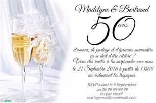 carte fã licitations mariage invitation anniversaire mariage flûtes de chagne 123 cartes