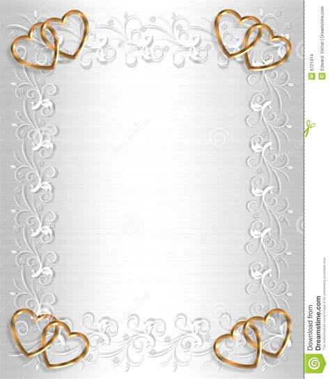 wedding invitation border white satin stock images image