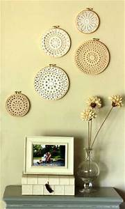 10 diy wall decor ideas recycled crafts and cheap With inexpensive wall decor