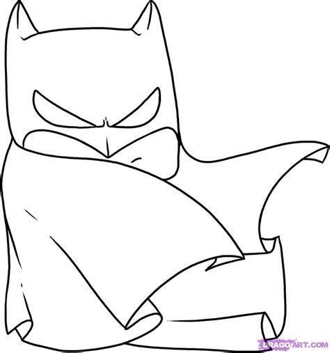 step    draw chibi batman
