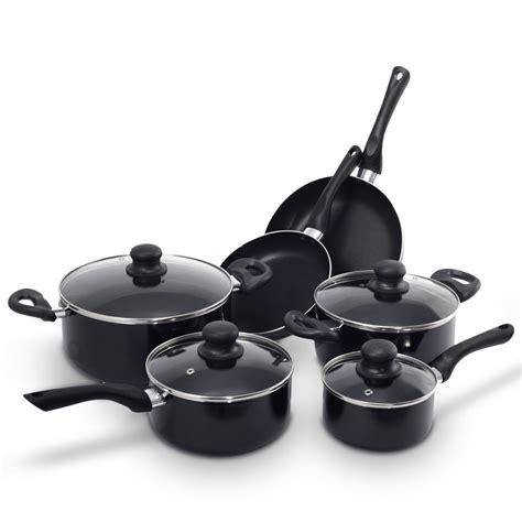 pans pots cookware cooking walmart kitchen costway stick non piece