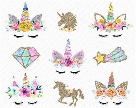unicorns clipart gold glitter unicorns unicorn head unicorn scrapbook unicorn clipart