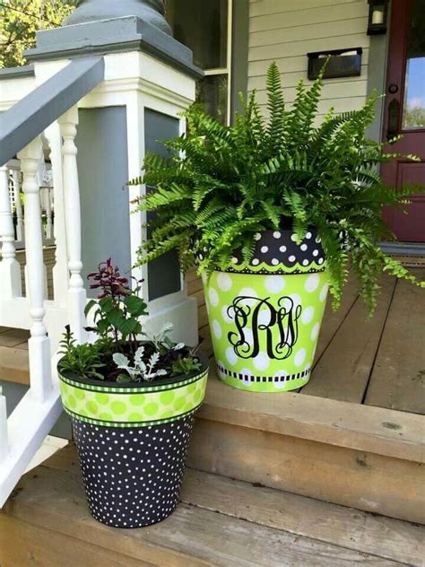 Garden Decoration Ideas With Pots by Welcome 17 Great Diy Flower Pot Ideas For Front