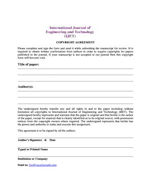 fillable  copyright transfer form engg journals