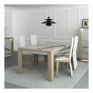 best table de salle a manger moderne bois contemporary With table salle a manger moderne