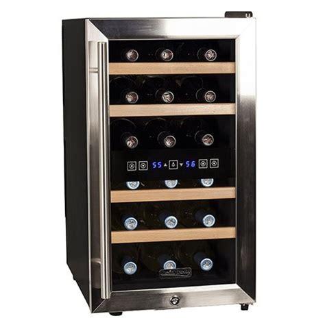 koldfront  bottle  standing dual zone wine cooler
