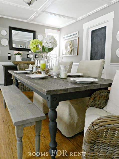 25 best ideas about painted farmhouse table on pinterest