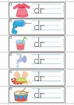 blends worksheets  activities dr  lavinia pop tpt