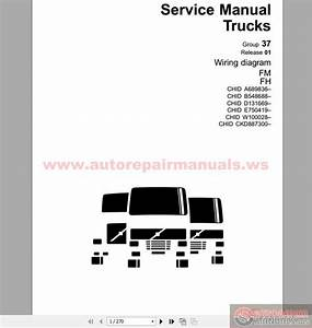 Volvo Fm9 Fm12 Fh12 Fh16 Nh12 Version2 Trucks Wiring Diagram Service Manual Download