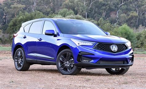 spousal report  acura rdx  spec review ny