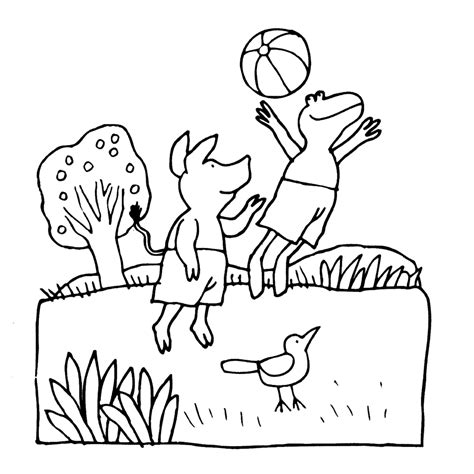 Kleurplaat Kikker En Vriendjes by Kleurplaten Kikker En Zijn Vriendjes