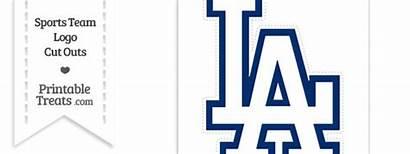 Dodgers Angeles Los Clipart Cut Clip Printable