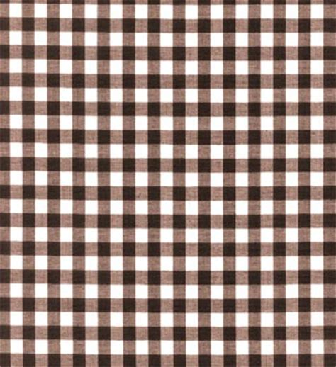 gingham fabric brown 1 4 quot discount drapery