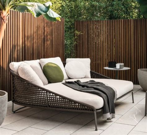 Sedere Aperto by Aston Cord Loveseat Dormeuse Outdoor 阳台 Outdoor