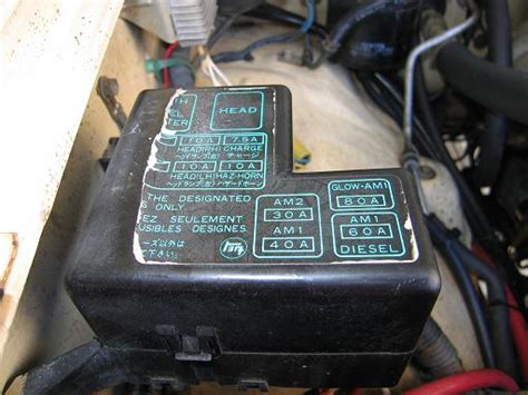 Toyota Pickup Fuse Box Diagram Wiring