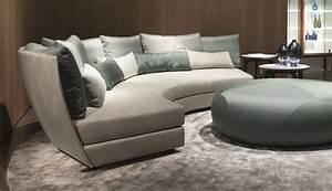 Giorgetti, Dhow, Curved, Modular, Sofa