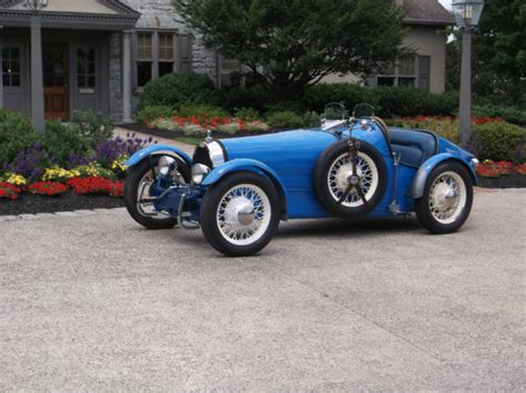 1927 Bugatti Type 35b Replica Kit Car New 2110cc Motor On