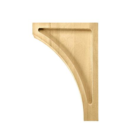 Corbels At Lowes by Waddell Br620 1 79 In X 9 In Poplar Corbel At Lowes