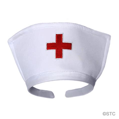 nurse hat white hat headband with cross costume accessory ebay
