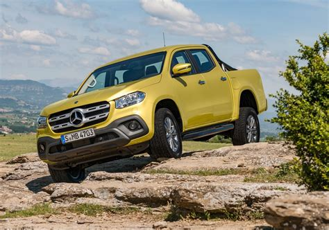 Mercedes Benz X Class Ute Unveiled 190kw V6 Flagship