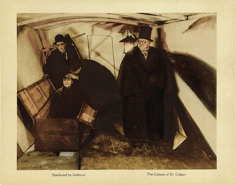 cabinet of dr caligari 1920 lobby card