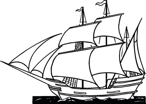 Cruise Ship Coloring Page At Getcoloringscom Free