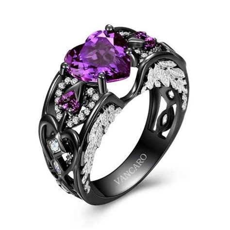 17 Best Images About Purple On Pinterest  Pink Sapphire. Jewelry Design Rings. Biblical Wedding Rings. Lab Created Rings. Billionaire Wedding Rings. Welded Rings. Koa Wood Rings. Rock N Roll Wedding Rings. Platter Engagement Rings
