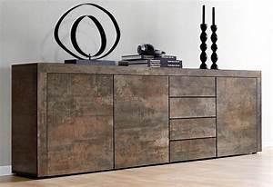 Vintage Industrial Möbel : borchardt m bel sideboard breite 201 cm kaufen otto ~ Markanthonyermac.com Haus und Dekorationen