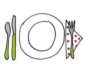 ustensiles de cuisine pas cher 7 dessin assiette et couverts lertloy