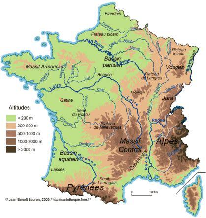 Carte De Fleuves Et Montagnes Vierge by La Fleuves Montagnes Les 233 Coliers De L Aubrac