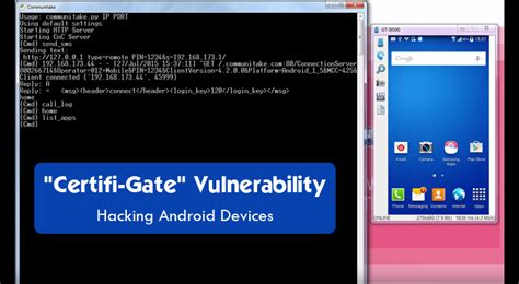 android phone hacks certifi gate vulnerability in android non stop