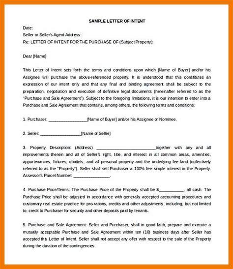 sample letter  interest  property