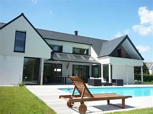 maison contemporaine avec combles et terrasse recherche With idee terrasse exterieure contemporaine 6 terrasse moderne ma terrasse