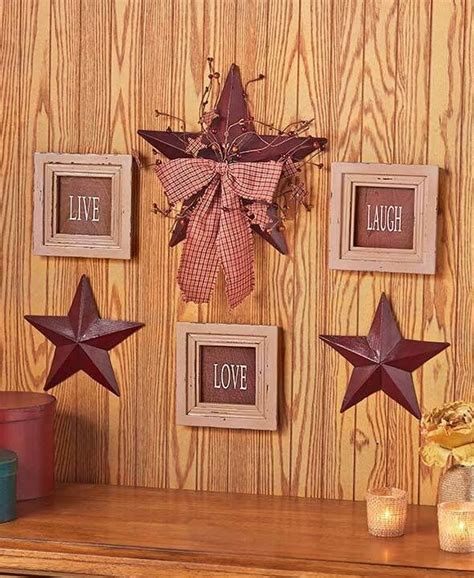 Live Love Laugh Framed Signs Country Stars Rustic