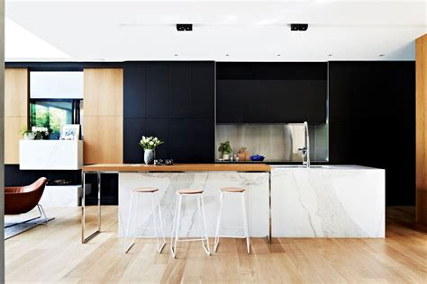 Black, White & Wood Kitchens Ideas & Inspiration