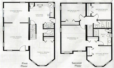 2 house plans with 4 bedrooms 4 bedroom 2 house plans 2 master bedroom two