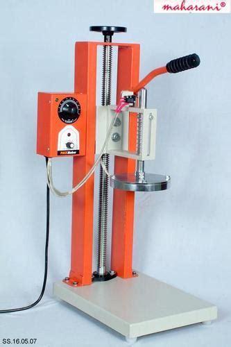 maharani mild steel foot operated aluminum foil sealing machines voltage   capacity