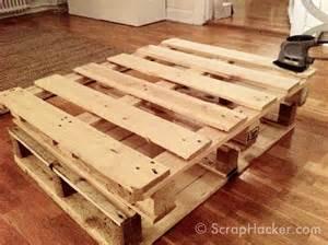 Diy pallet furniture instructions furnitureplans for Homemade furniture instructions