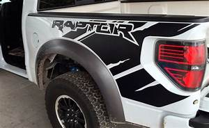 ford raptor svt f150 bedside predator vinyl graphics With kitchen cabinets lowes with ford raptor stickers