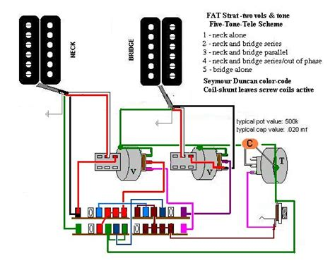 Humbucker Wire Diagram by Dual Humbucker Wiring Guitar Forums