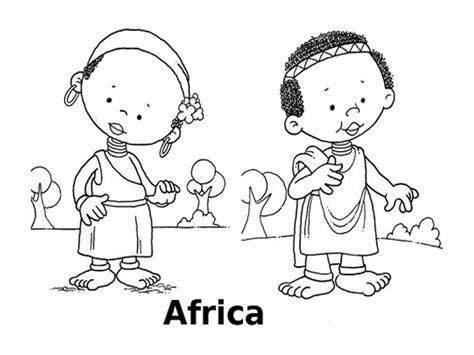 disegni bambini mondo da colorare disegni da colorare i bambini mondo africa
