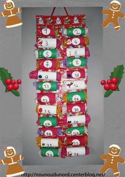 calendrier de l avent avec des rouleaux de papier wc 2012