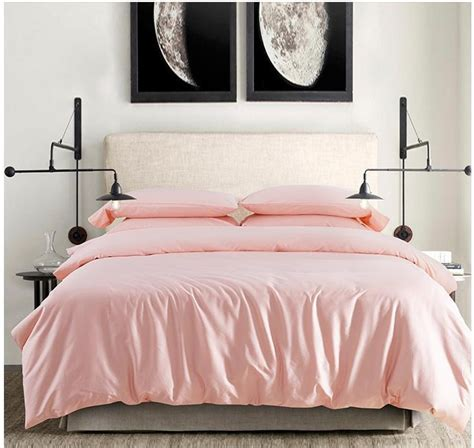 12304 pink bedding sets 2015 100 cotton light pink bedding set sheets
