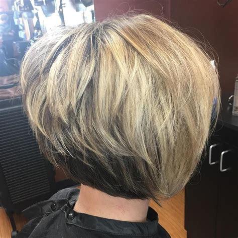 50 Trendy Inverted Bob Haircuts Short layered haircuts