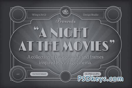 Cinema Titles Template Torrent by Vintage Movie Backgrounds And Frames 41144 187 Free Download