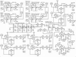 Audio Mixer Circuit Page 4   Audio Circuits    Next Gr