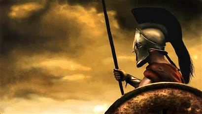Greek Warrior Painting Spartan Warriors Epic Ancient