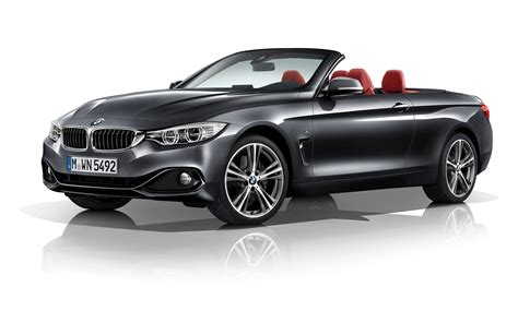 2014 bmw 4 series convertible white background 9