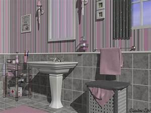 Deco Salle De Bain Gris : d co salle de bain rose et gris exemples d 39 am nagements ~ Farleysfitness.com Idées de Décoration